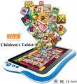 O design exclusivo crianças tablet com câmera e sistema android 4.1 passou CE FCC RoHS
