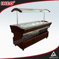 10 panelas frigoríficos buffet do hotel equipamento/buffet de frios/buffet contador