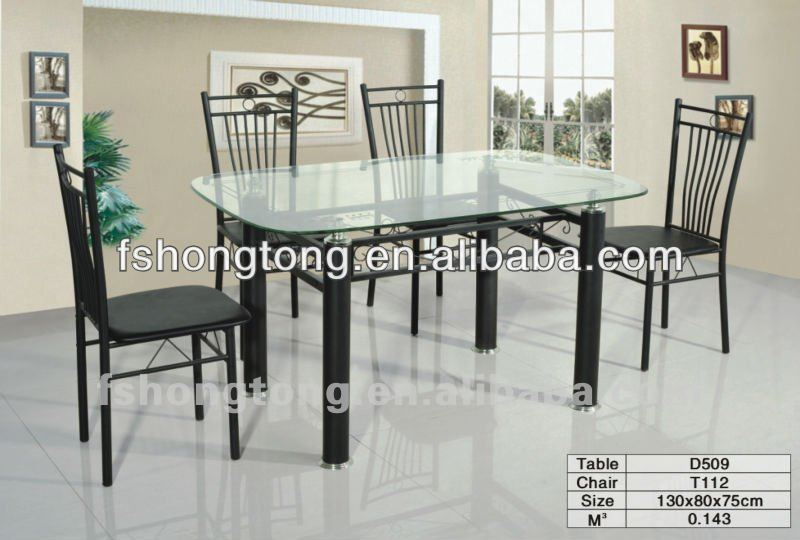 Rectangular Glass Top Dining Tables D509t112 Buy Simple  : RectangularGlassTopDiningTablesD509T112 from alibaba.com size 800 x 540 jpeg 61kB