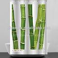 impressão de bambu cortina de chuveiro para o projeto 2013