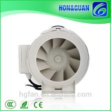 "5"" inch CFM Inline Duct Exhaust Fan Air Blower Cool Hydroponics Ventilation"