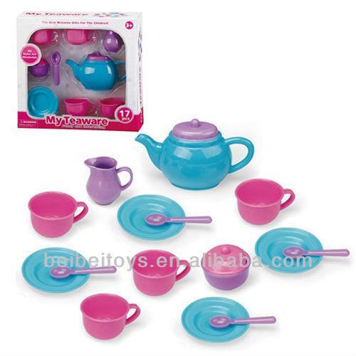 Kids Plastic Teaware Paly Set