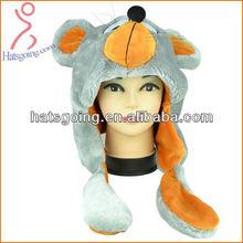 Wonderful Knit Hats Wiht Mouse Shape