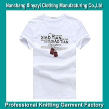 2014 Fashion Cotton / Spandex Mens T-Shirt In Bulk china Wholesale