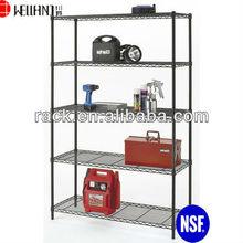 Buona qualità regolabile 5 livelli di metallo scaffalature per garage di stoccaggio, approvazione nsf
