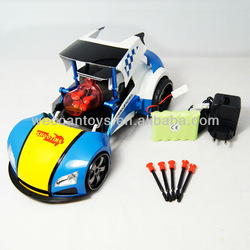 hostest ios and android mobile rc car with missile shooting function