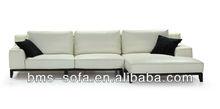 import full leather metal frame sofa