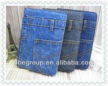For ipad mini 2 Jeans leather case