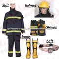 traje de bombero con una buena estabilidad térmica