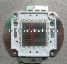 Super red 1W 3W 10W 30W 50W 80W 100W high power led chip 660nm,640nm,630nm,620nm for plant growth lights