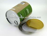 Milk Powder Packaging Cardboard Paper Can