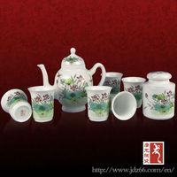 2013 new design Jingdezhen colabrate hand painted japanese porcelain tea set