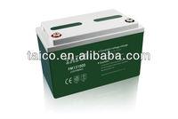 FM121000 12V 100AH Maintenance Free solar battery 100ah