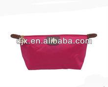 Korean style cute bulk cosmetic bag, hobo nynon clutch bag