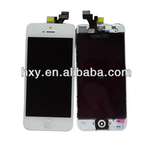 White color Screen Assembly replacement touch for iPhone 5 LCD