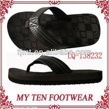 2013 New Design PU Men Flip Flop Slippers