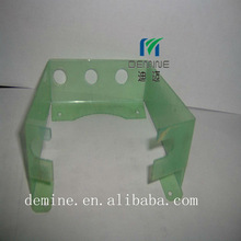 OEM polycarbonate post forming/polycarbonate punching service/polycarbonate machine security guard