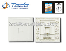 China full housing cover faceplate optical fiber types of lan card junction box 5w n type attenuator fiber optic patch cord