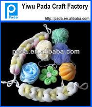 Promotional Baby Plastic Net Sponge Bath