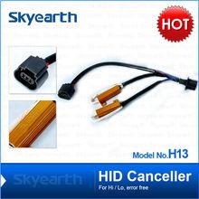 hid xenon light warning canceller H13 H/L partes para autos