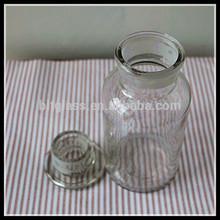 500ml round medical glass bottle
