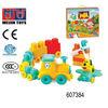 34pcs block set plastic building blocks toy for kids