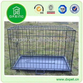 """42"""" Collapsible Metal Dog Cage (BV SGS TUV)"""