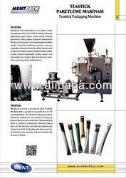 tea stick machine