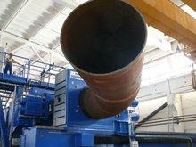 Induction bending machine