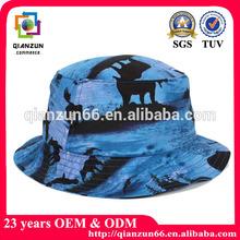 Custom design print pattern cool bucket hat