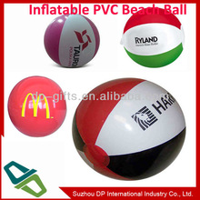 18 inch inflated size pvc inflatable beach ball