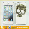 PC skeleton hard case for iphone 5 I5