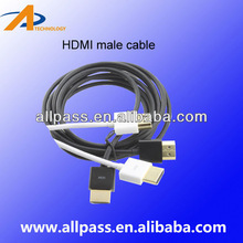 Certificated high quality 1.4 hdmi cable,1440P,3D,4K ,best platinum quality for Blu-ray player,PS3 &HDTV