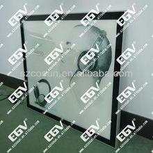 single side super slim led magnets light box display