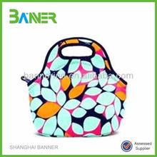 High Quality Neoprene Lunch Bag inner cool lunch bag