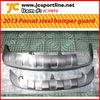 For 2013 VW Passat / Magotan front and rear bumper guard board car steel bumper fender