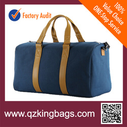 Cheap and high quality leather travel bag