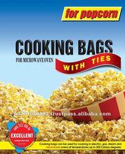 High-temperature popcorn bag