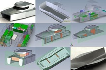 3D CAD and Boat Hovercraft Design Service