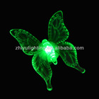 Battery operated mini led lights for family decoration with butterfly led lamp