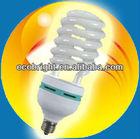High quality low price energy saving bulb half spiral big power 17mm 8000H CE QUALITY