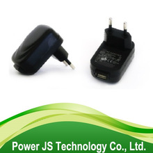 wall adapter 5v 1a power supply 100-240v 50-60hz eu usb charger