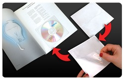 CD Sleeve, PVC, Self Adhesive (Sticker), Plastic CD Envelope,