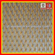 Aluminum alloy decorative metal curtains(copper colour)