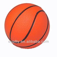 Custom mini rubber basketball