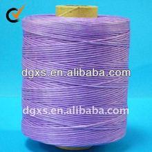 Waxed polyamide Thread