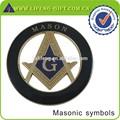 mason carro emblema símbolos maçônicos