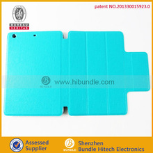 Hot sale for Ipad mini smart cover ,smart cover for Ipad mini with 3 fold fuction