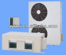 Daikin high static pressure duct type air conditioner connection