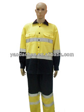 100% pure cotton uniform shirt and pants for Mid East